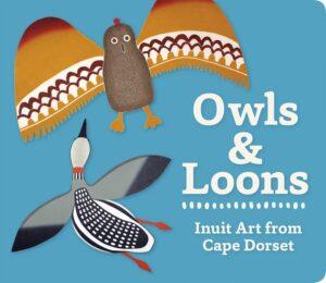Owls & Loon Board Book