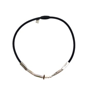 Necklace - Gabbro Silvery