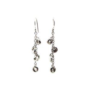 4 Dangle Lucky Stone Earrings