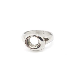 SS Skinny Lucky Stone Ring