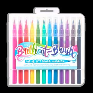Brilliant Brush Markers S/24