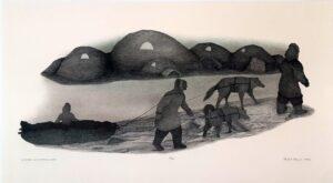 Winter Seal Hunt Camp - Peter