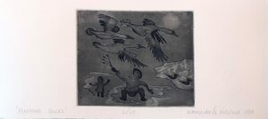 Hunting Ducks - Agnes Nanogak
