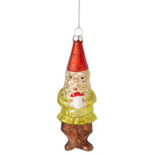 gnome w mushroom ornamnet