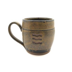 Dark Wood Ash Mugs