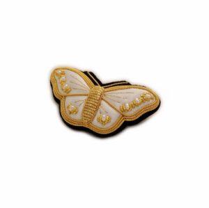Med Butterfly Brooch - Ivory