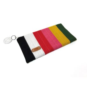 Clutch Rainbow Quilted