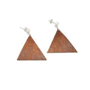 Lrg Birchbark Triangle Dangle