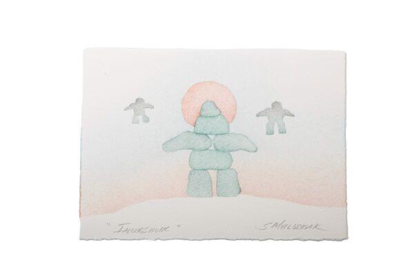 Card Inukshuk S. Malgokak