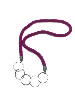 Five Circles Neckpiece