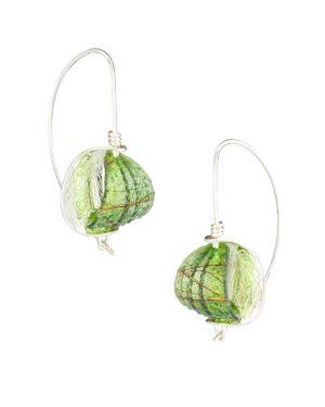 Retroflex Earrings sm Jade