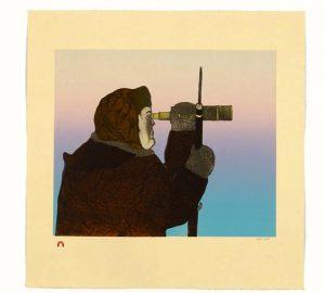 Focused Hunter by Pitaloosie Saila
